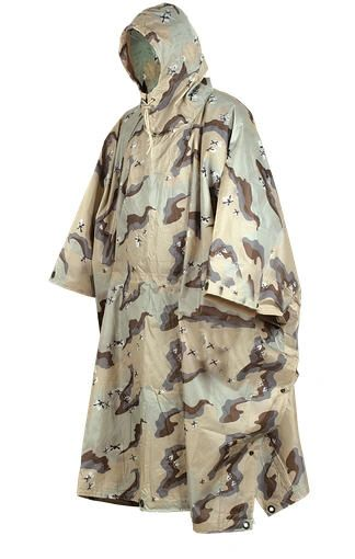South American Rain Camo Poncho