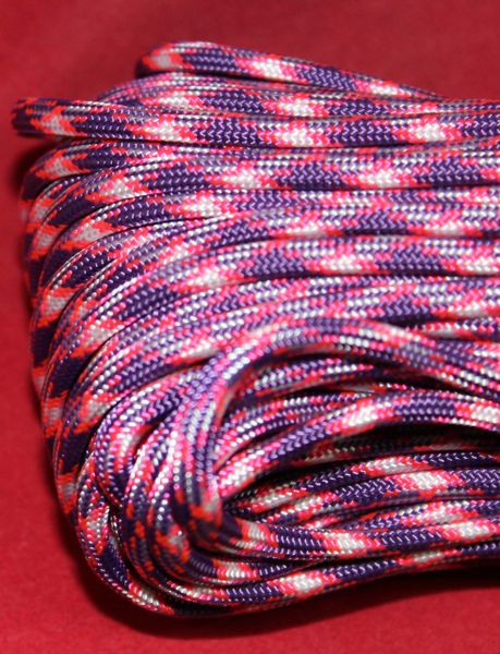 550 7 Strand Paracord Purplelicious