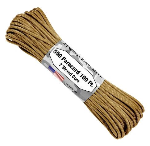 550 7 Strand Paracord Tan