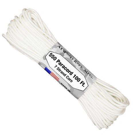 550 7 Strand Paracord White