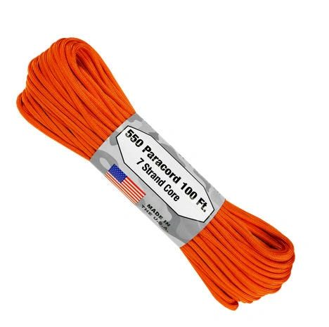 550 7 Strand Paracord Burnt Orange