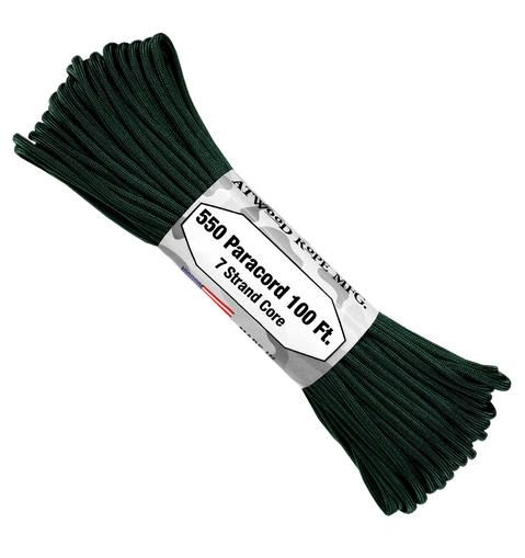550 7 Strand Paracord Hunter Green