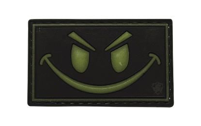 Smile Face Glow in the Dark Morale Patch