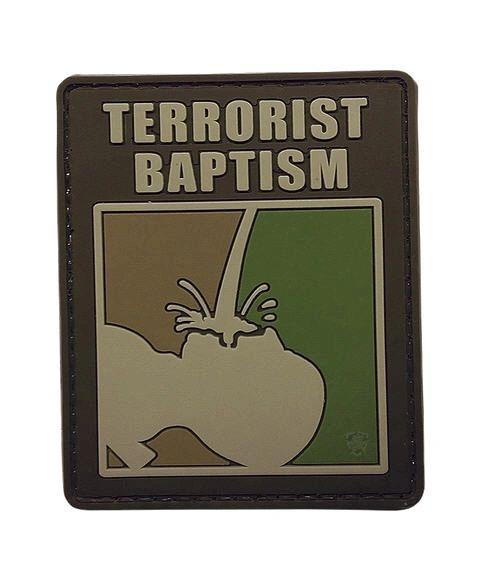 Terrorist Baptism Morale Patch