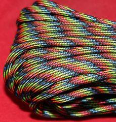 550 7 Strand Paracord Dark Stripes