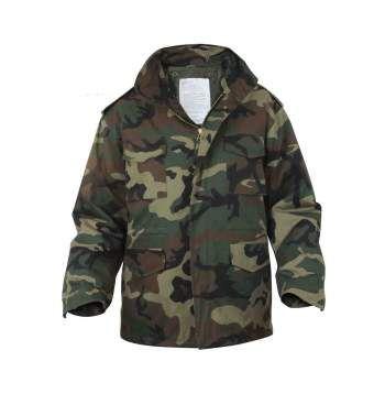 Woodland Camo M-65 Jacket