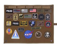 Hanging Roll-Up Morale Patch Board