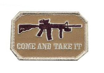 Come and Take It Morale Patch