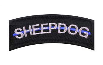Thin Blue Line Sheepdog Morale Patch Tab