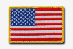 USA Nationality Patch (Colour Choice)