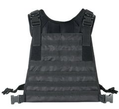 I.C.E. High Mobility Black Plate Carrier Vest