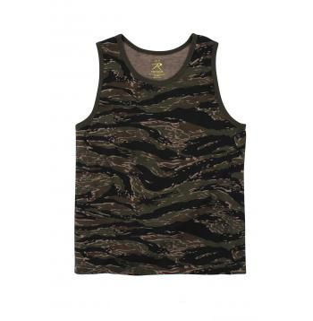 Tiger Stripe Camo Tank Top