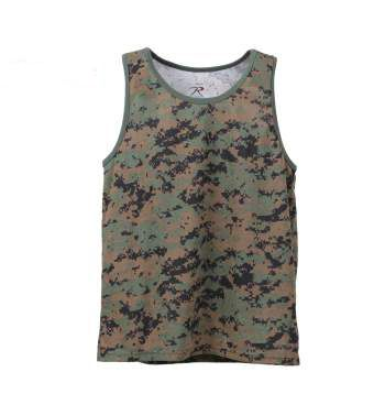 Digital Marpat Camo Tank Top