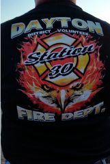 Dayton District Volunteer Fire Department, Eagle T-shirt