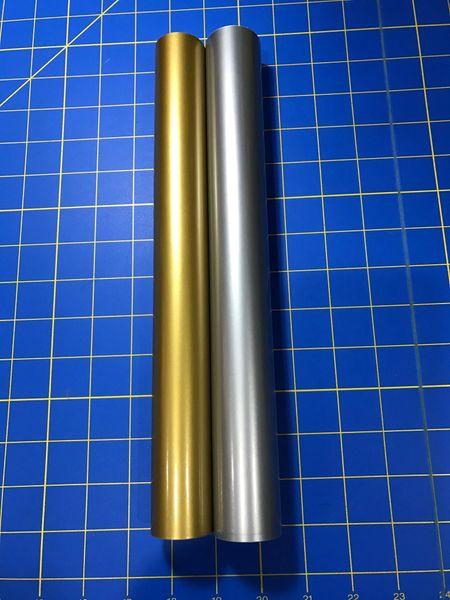 Oracal 651 2 5 ft Rolls, 1 Gold Metallic, 1 Silver Metallic