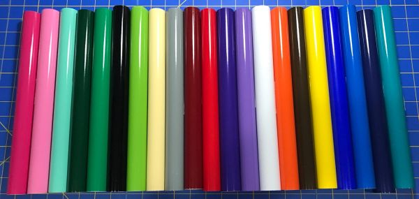 Oracal 651 Rolls 5 2 ft rolls Permanent Adhesive Vinyl, Choose your colors