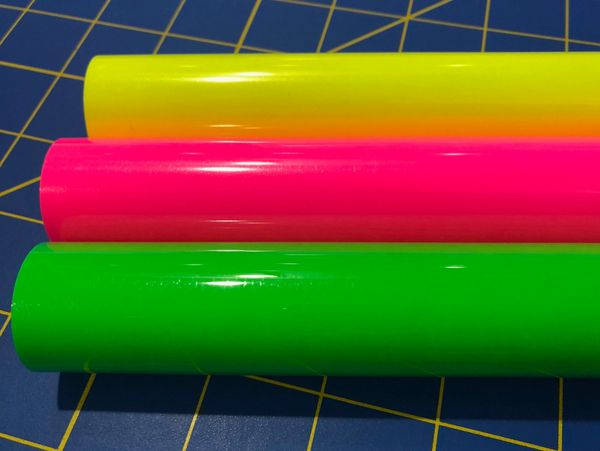 "Easyweed Neon Flourescent 3' Ft Rolls, 15""x 36"", Choose Color"