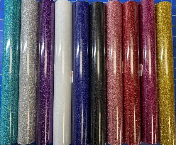 """Siser Glitter Heat Transfer, 12"""" x 5 ft Roll"""