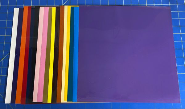 """Siser Easyweed 5, 12"""" X 12"""" Sheets, Choose your Color"""
