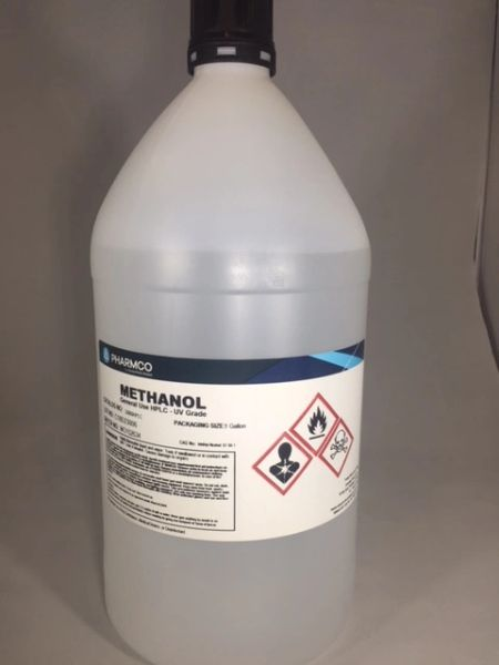 Methanol (Absolute) HPLC 4x1 gallon Part Number 33900HPLCCSGF