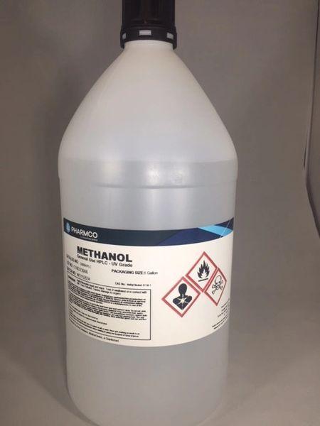Methanol (Absolute) USP/NF 4x1 gallon Part Number 339USPNFCSGL