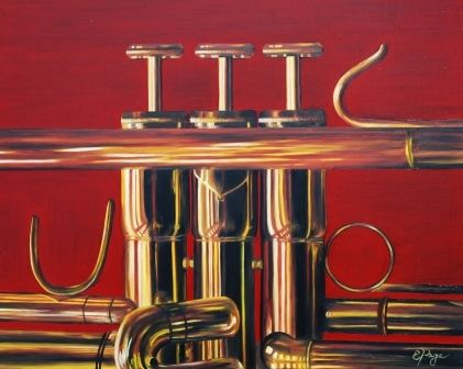 Trumpet in Red