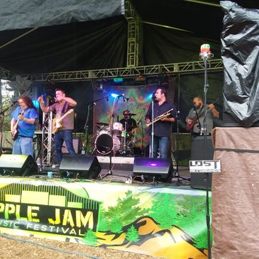 T-Club Live Music Concert Apple Jam Festival Provolt Southern Oregon