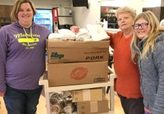 Donation for Meat to Ronald McDonald House