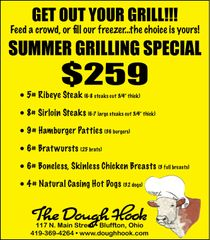 Summer Grilling Special