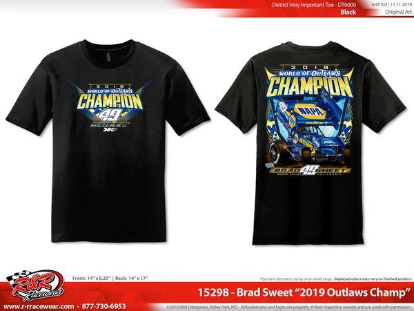 2019 WoO Championship Shirt - Black