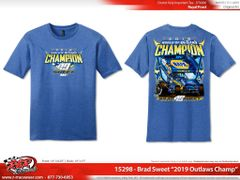 2019 WoO Championship Shirt - Royal Frost Blue