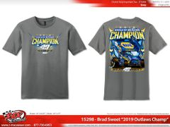 2019 WoO Championship Shirt - Charcoal Grey
