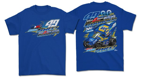2020 2X Championship Shirt - Royal Blue
