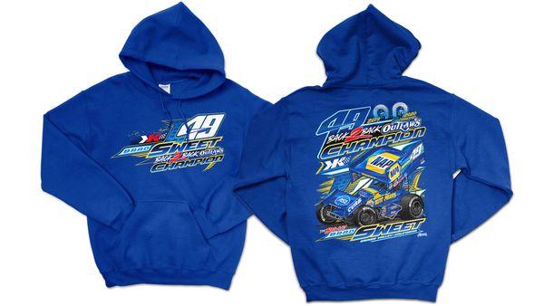 2020 2X Championship Sweatshirt - Royal