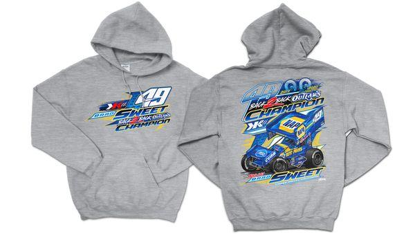 2020 2X Championship KIDS Sweatshirt - Sport Grey