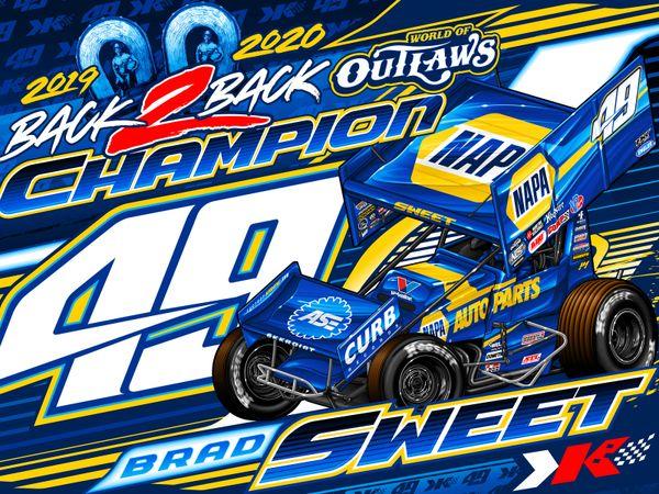 2020 NAPA AUTO PARTS Championship Poster