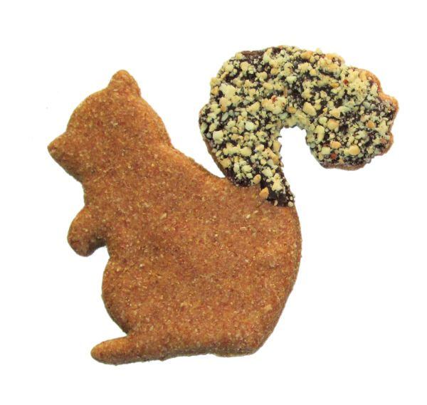 Squirrelly Squirrel Dog Treat