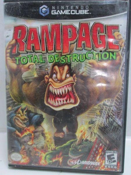 Nintendo Gamecube Rampage Total Destruction Rated E Video Game Ga
