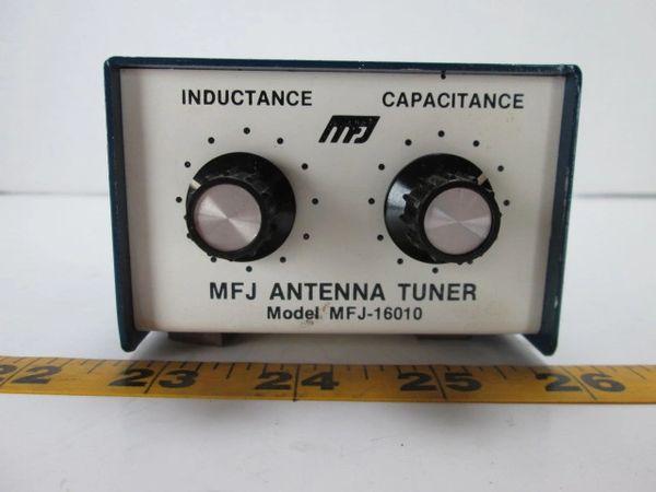 MFJ Antenna Tuner Model MFJ-16010 Inductance Capacitance CB Radio Marine  Antenna Test Equipment T