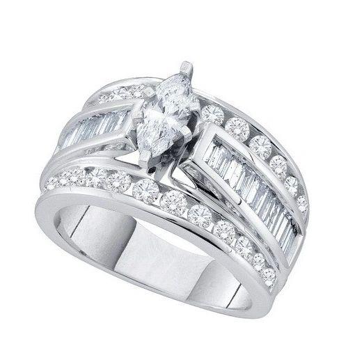 1 CTW DIAMOND MARQUISE RING