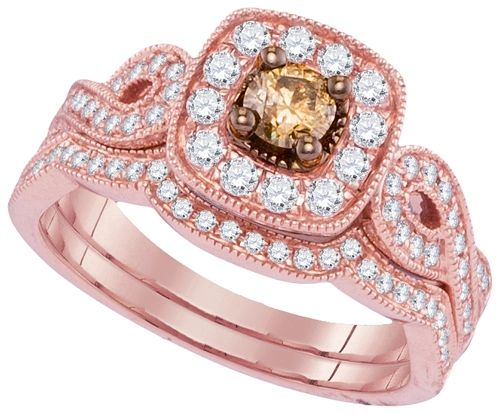 3/4CTW DIAMOND FASHION BRIDAL SET