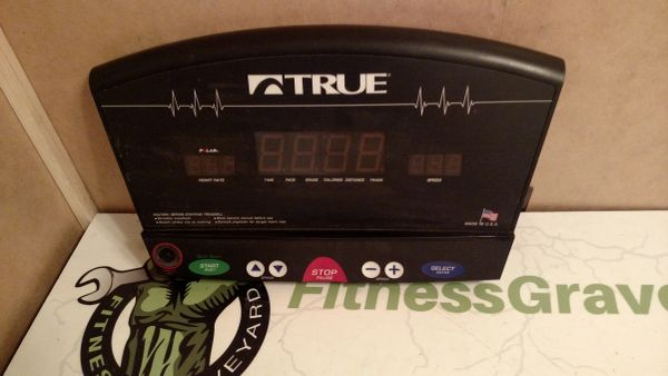 True 700z Treadmill Console - Used - Ref# STL-910