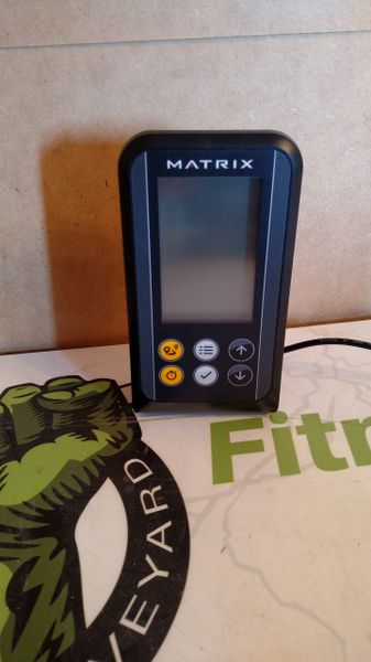 Matrix Rower AR11 (2015) Console Used ref. # jg4893