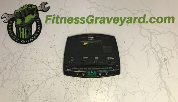 Precor C956 Treadmill Console Overlay - Used - Ref#10462