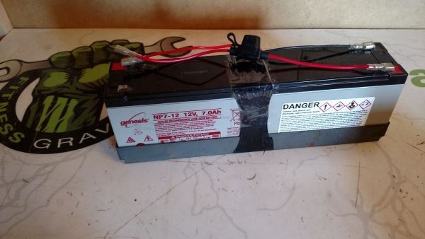 Octane Pro 4700/XT ONE/Lateral X Elliptical Battery Pack 12V OEM# 103750-001 Used ref. # jg4922