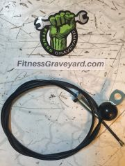 """LIFE FITNESS 8000 Multi Stack Gym Cable Assembly, 62"""" - NEW - OEM# 6954901 REF# WFR10181810SM"""