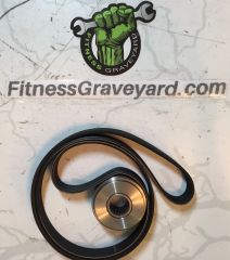 LIFE FITNESS LC-8500 # GK63-00002-0079 Pulley & Belt Kit NEW REF # MFT1161811SM