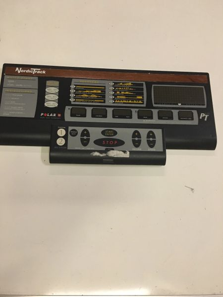 NordicTrack PT 6.0 Console USED REF # 10446