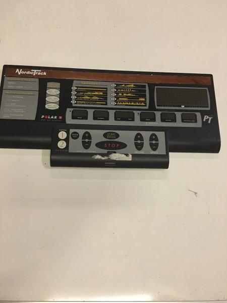 Nordic Track PT 6.0 Treadmill Console Ref# 10446- Used