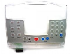 Stairmaster / Nautilus C51 Fits # SM40468 - Clear Display Lens Keypad overlay - NEW - R# KAM326191SM